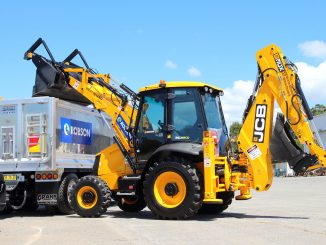 JCB 203CX20 Backhoe